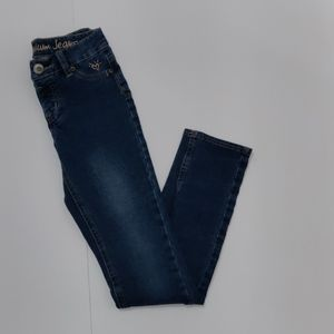 Justice premium girl jeans size 12 S